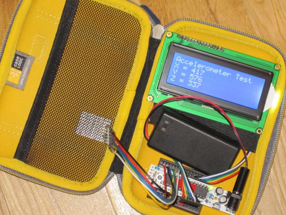 Accelerometer Test Rig